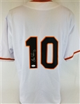 Evan Longoria Signed San Francisco Giants Custom Jersey (JSA COA)