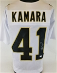 Alvin Kamara Signed New Orleans Saints Custom Jersey (JSA Witness COA)