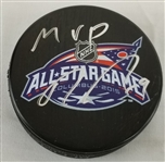 "Ryan Johansen ""MVP"" Signed 2015 NHL All-Star Game Hockey Puck (Beckett COA)"