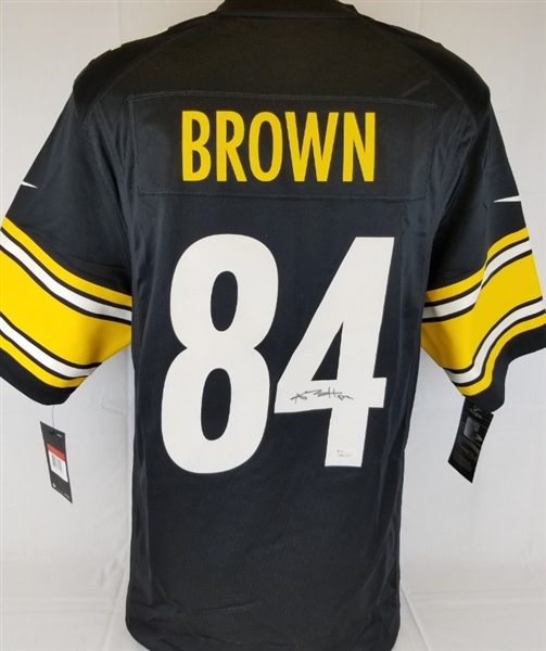 best website ebc03 ed1a5 Lot Detail - Antonio Brown Signed Pittsburgh Steelers On ...