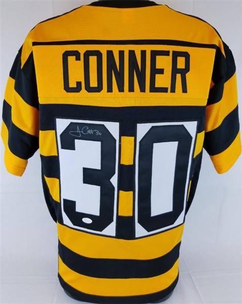 c38ec9507 James Conner Signed Pittsburgh Steelers Custom Throwback Jersey (JSA  Witness COA)