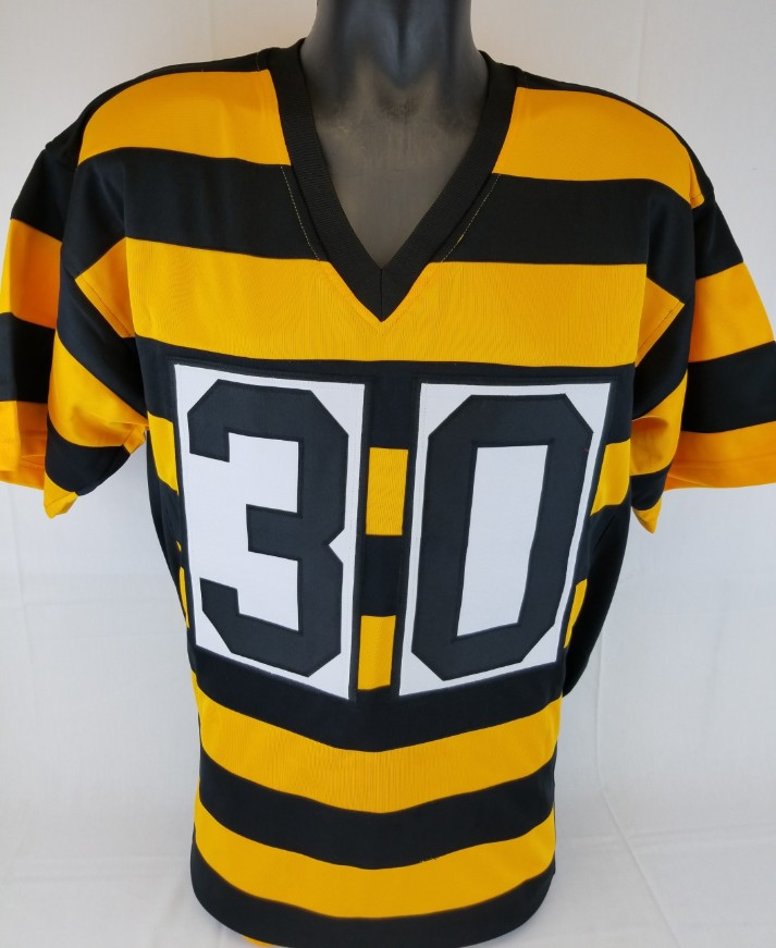 701daca40 James Conner Signed Pittsburgh Steelers Custom Throwback Jersey (JSA  Witness COA). Prev Next