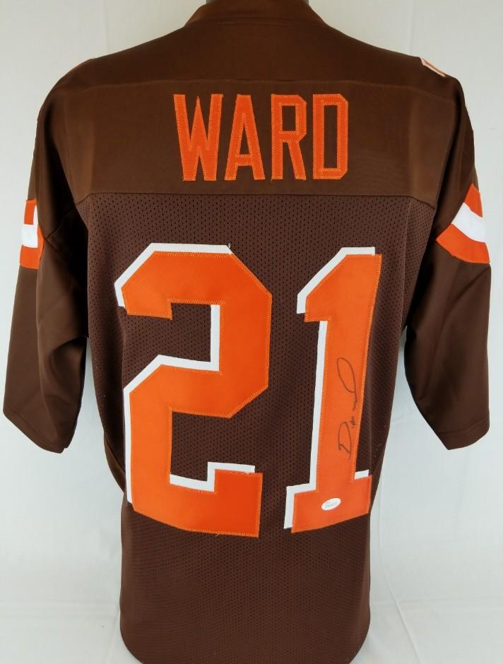 Lot Detail - Denzel Ward Signed Cleveland Browns Custom Jersey (JSA ... 1854972a7