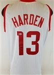 James Harden Signed Houston Custom Jersey (Beckett Witness COA)