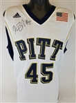 Dejuan Blair Signed Pitt Panthers Adidas Replica Jersey (JSA COA)