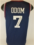 Lamar Odom Signed Los Angeles Clippers Nike Replica Jersey (JSA COA)