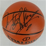 Dennis Rodman Signed Spalding Replica NBA Game Series Basketball (Schwartz Sports COA)