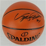 Dominique Wilkins Signed Spalding Replica NBA Game Series Basketball (Schwartz Sports COA)