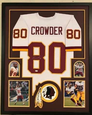 buy online 9953b 36883 Lot Detail - Jamison Crowder Signed Washington Redskins ...
