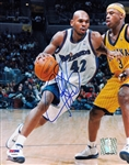 Jerry Stackhouse Signed Washington Wizards 8x10 Photo (PSA/DNA COA)