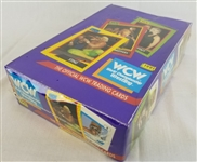 1991 World Championship Wrestling Official WCW Trading Cards New / Sealed Box