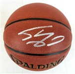 Shaquille ONeal Signed Spalding NBA Indoor/Outdoor (Beckett Witness COA)