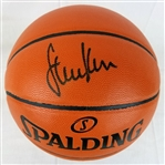 Steve Kerr Signed Spalding Replica NBA Game Series Basketball (Schwartz Sports COA)