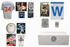 2016 Chicago Cubs World Champs Mystery Autograph Gift Box - Series 5 (Limited to 108)