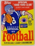 1989 Topps Football Unopened Pack - Possible Thurman Thomas or Michael Irvin Rookies