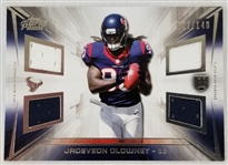 Jadeveon Clowney Houston Texans 2014 Topps Prime Quad Relic Lmt Ed Rookie Card #42 of 140