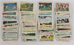 1982 Fleer Team Action Complete Set Football - 88 Cards