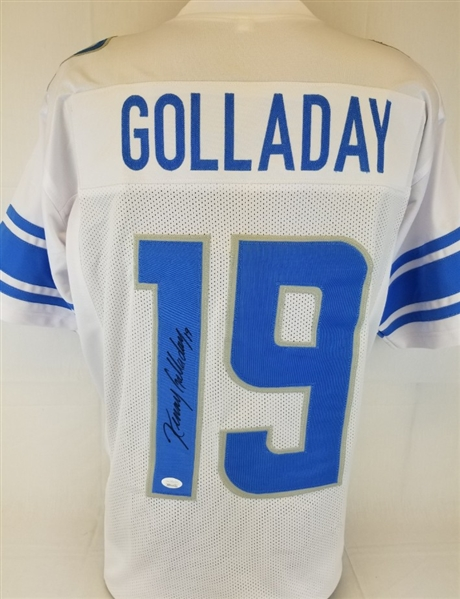 Lot Detail Kenny Golladay Signed Detroit Lions Custom Jersey (JSA