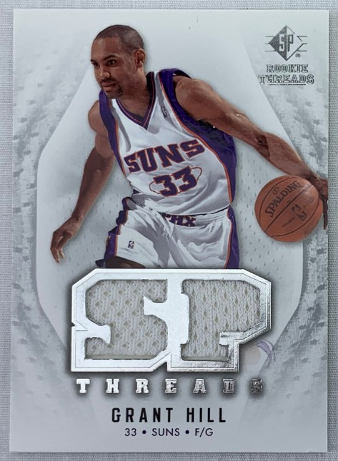 Lot Detail Grant Hill Phoenix Suns 2008 Sp Rookie Threads