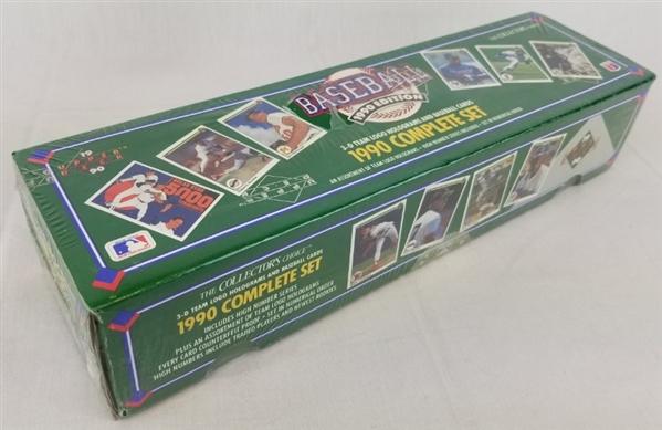 Lot Detail 1990 Upper Deck Baseball Factory Sealed Official
