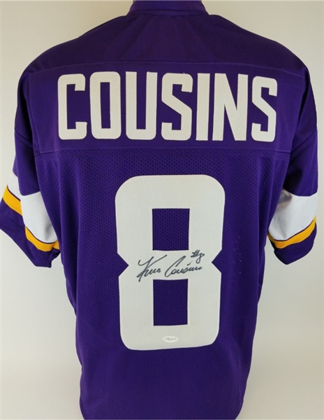 check out 38325 c2669 Lot Detail - Kirk Cousins Signed Minnesota Vikings Custom ...