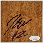 John Wall Signed 3.75x5 Hardwood Floor Board Piece (JSA COA)