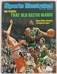 Sidney Wicks Signed Boston Celtics 1977 Sports Illustrated Magazine (JSA COA)