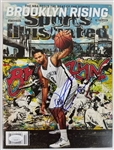 Deron Williams Signed Brooklyn Nets 2012 Sports Illustrated Magazine (JSA COA)