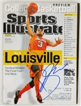 Peyton Siva Signed Louisville Cardinals 2012 Sports Illustrated Magazine (JSA COA)