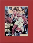 Damon Bailey Signed Indiana Hoosiers Sports Illustrated Matted Photo Display (JSA COA)