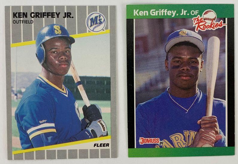 Lot Detail Lot Of 2 Ken Griffey Jr Seattle Mariners
