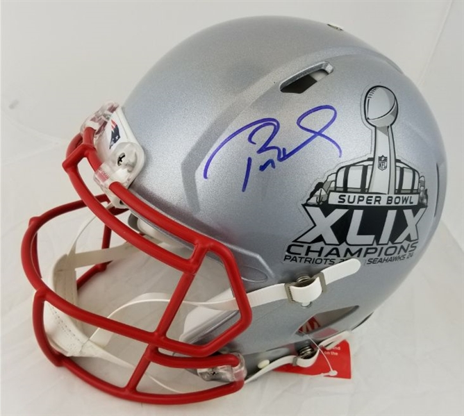 Lot Detail - Tom Brady Signed Full Size Authentic New