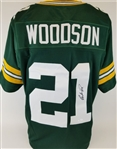 Charles Woodson Signed Green Bay Packers Custom Jersey (JSA COA)