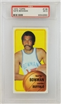 Nate Bowman Buffalo Braves 1970 Topps #138 Basketball Card - Graded EX 5 (PSA)