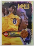 Kobe Bryant Los Angeles Lakers 1998 Collectors Edge Basektball Relic Card