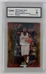 LeBron James Cleveland Cavaliers 2003 Upper Deck Freshman Season Collection Rookie Card - Graded Mint 9 (GMA)