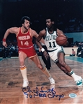 "Charlie Scott ""76 NBA Champ"" Signed Boston Celtics 8x10 Photo (Hollywood Collectibles COA)"
