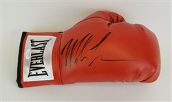 Mike Tyson Signed Red Everlast Right Hand Boxing Glove (JSA Witness COA)