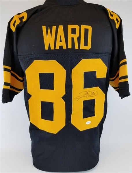 buy online ea4f0 a9f05 Lot Detail - Hines Ward Signed Pittsburgh Steelers Custom ...