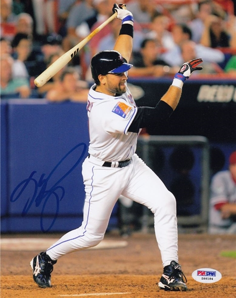 Mike Piazza Signed New York Mets 8x10 Photo (PSA/DNA COA)