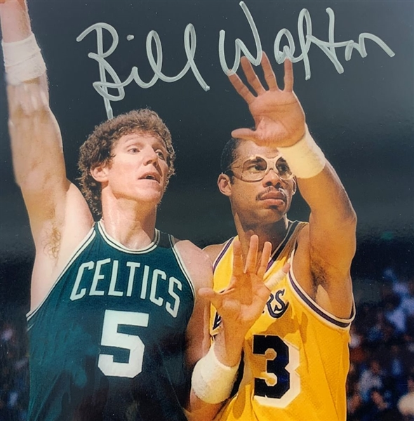 check out f7582 c98cd Lot Detail - Bill Walton Signed Boston Celtics 8x10 Photo ...