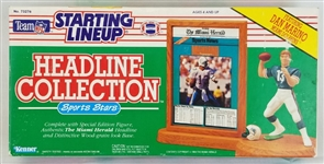 Dan Marino Starting Lineup Headline Collection Miami Dolphins Action Figurine w/ Base