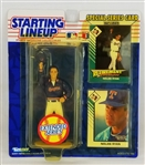 Nolan Ryan 1992 Starting Lineup Extended Series Figurine & Cards Set