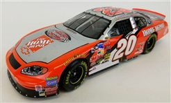 Tony Stewart Signed #20 Home Depot 1:24 Scale Replica Die-Cast Car (Collectors Choice COA)