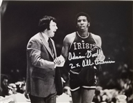 "Adrian Dantley ""2x All-American"" Signed Notre Dame Fighting Irish 11x14 Photo (JSA Witness COA)"