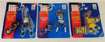 Lot of (3) Shaquille ONeal Unopened Shaq Attaq Figurines