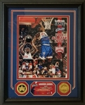 LeBron James Unigned Lmt Ed. 2006 All-Star Game MVP Framed Photo w/ Commemorative Coins