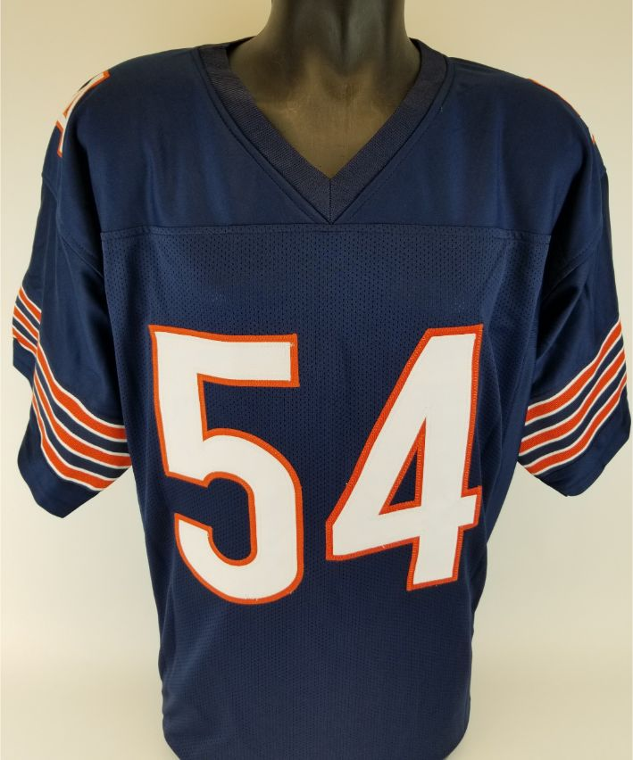 more photos 7db40 a0b3a Lot Detail - Brian Urlacher Signed Chicago Bears Custom ...