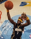Jermaine ONeal Signed Indiana Pacers 16x20 Photo (JSA COA)
