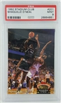 Shaquille ONeal Orlando Magic 1992 Stadium Club Rookie Basketball Card - Graded Mint 9 (PSA)